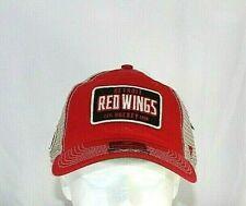 Detroit Red Wings NHL Red Baseball Cap Adjustable