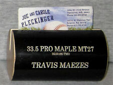 Travis Maezes, Kansas City Royals- Business Card Holder Made From Game Used Bat