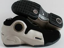 NIKE 2009 AIR FLIGHTPOSITE II LE METALLIC ZINC-BLACK SZ 11.5 RARE!! [386160-001]