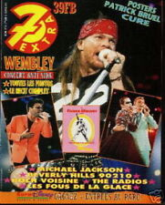 7 EXTRA 92/18 (29/4/92) GUNS N'ROSES BOWIE LENNOX MADONNA QUEEN RYDER CURE