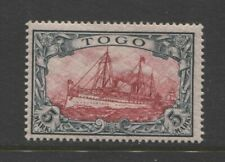 1900 German colonies Togo 5 Mark Yacht issue mint*  $ 250.00