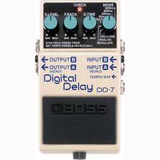 BOSS DD-7 Digital Delay Pedal +Picks