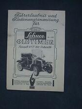 z 902/ Schuco Oldtimer Renault Bedienungsanleitung