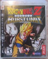 Play Station 3 PS3 Dragonball Z Burstlimit (Manual, box and game)