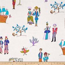 Folk Art Revolution Cotton Fabric Settlers Free Spirit Kathy Doughtry  BFab