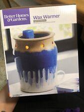 Better Homes And Gardens Wax Warmer Dripped Reactive NIB