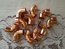 Lot Of 50 12 90 Degree Copper Elbow Fitting Cxc Plumbing Parts Ship Fast