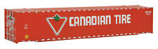 Walthers HO Scale 53' Singamas Corrugated-Side Container Canadian Tire (Red)