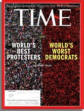 Time Magazine - 2013, July 22 - Protests in Egypt Oust an Elected President