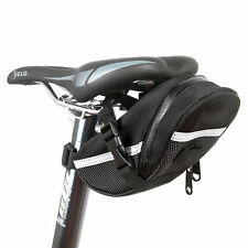 Waterproof Bike Bicycle Saddle Bag Pouch Tail Rear Storage Seat Bags Panniers BE