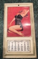 Vintage 1954 Marilyn Monroe Calendar Golden Dreams Limited Art Print Sexy Pin-Up