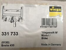 Viega Modul Bidet Viegaswift 8130 in 430mm Stahl verzinkt 331733
