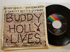 BUDDY HOLLY & THE CRICKETS - Peggy Sue / It Doesn't Matter Anymore ROCK & ROLL
