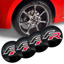 4 TAPPI ADESIVI COPRIMOZZO BMW SEAT Ibiza Leon + modelli FR CERCHI BORCHIE 56 MM