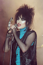 "12""*18"" concert photo of Siouxsie playing at Coventry in 1981"