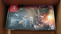 Nintendo Switch Monster Hunter Rise Deluxe Edition Console - Brand New