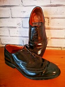 Richleigh Mens Leather Shoes Size 7 U.K.