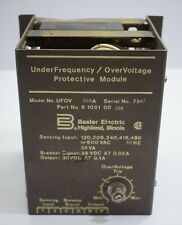 Basler Electric UFOV 9105100105 Over-voltage Protective Module Under-frequency