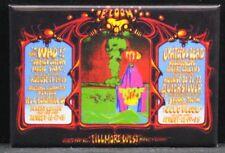 "The Who / Grateful Dead Poster 2"" X 3"" Fridge / Locker Magnet. Fillmore West"