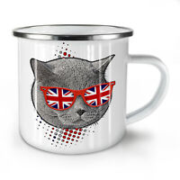 British Shorthair NEW Enamel Tea Mug 10 oz | Wellcoda