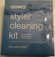 Amika Curling Iron & Flat Iron Hair Styling Tool Cleaning Kit