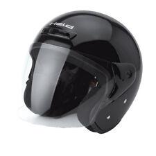 HELD Heros Jethelm Touren Helm schwarz Größe XS = 53/54 Rollerhelm mit Visier