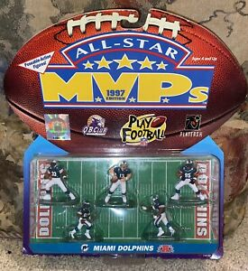 1997 ALL-STAR MVP MIAMI DOLPHINS POSEABLE ACTION FIGURES Figurine Marino