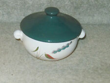 DENBY GREENWHEAT LUGGED SOUP BOWL (Lidded)