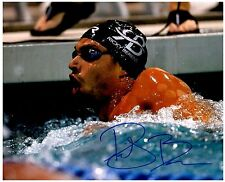 Ricky Berens Signed Autographed Team U.S.A. Olympic Swimming 8x10 Pic. B