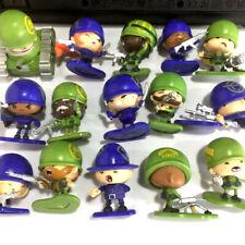 random 5Pcs Little Green Men Starter MarksMen Squad Series 1 Soldier collect