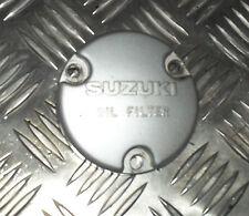 Suzuki 125 GN - 2000 / 6 780 kms - Carter cache du Filtre a Huile