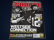 2003 DEC THE SOURCE MAGAZINE - ICE CUBE - MACK 10 - WC COVER - HIP HOP - K 475