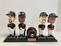 2002 MLB SF Giants Collectors Series Bobblehead complete Set Bonds Aurelian Nen