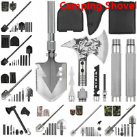 Military Folding Shovel Survival Tactical Spade Tools for Camping Hiking Hunting