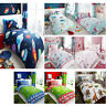 CHILDRENS BEDDING KIDS DUVET SETS & FITTED SHEET BOYS & GIRLS UNICORNS DINOSAURS