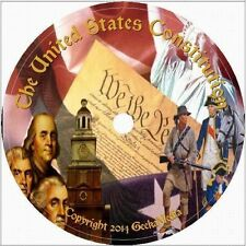 US Constitution 34 books 1 Movie 3 MP3 Cd Declaration Independence Bill Rights