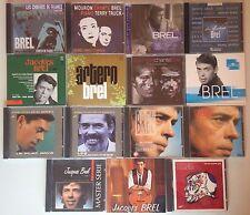 LOT CDS ALBUM SPECIAL JACQUES BREL