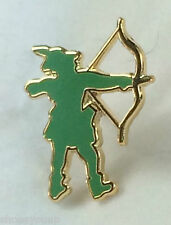 Robin Hood, Archer, Archery, Sherwood Forrest Quality enamel lapel pin badge
