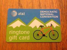2008 Democratic National Convention Ringtone AT&T Card President Barack Obama