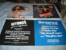 Beyonce-(dangerously in love)-1 Poster Flat-2 Sided-12X24-Nmint-Rare