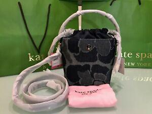 Kate Spade Pippa Small Bucket Bag $258 Indigo Multi
