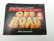 Super Off Road -NES- Anleitung B-Ware