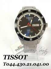 TISSOT T-Sport PRS516 Mens Automatic Watch T044.430.21.041.00 Blue Watch