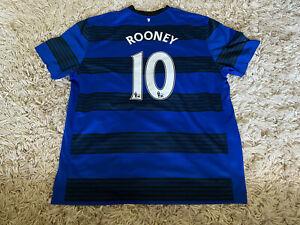 Manchester United Rooney 2011-12 Away Football Shirt XXXL 3XL Man Utd Rare