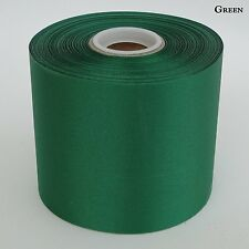 """4"""" Wide Green Ceremonial Ribbon for Grand Opening Ceremony 50 Yard Roll"""
