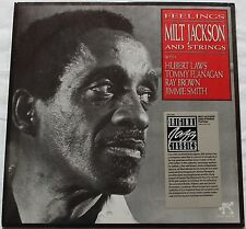 Milt Jackson ‎Feelings (Lp neuf sous blister)