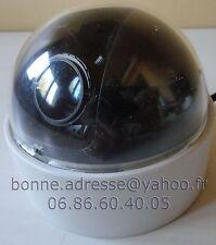 Caméra Couleur Dôme Antivandal Fixe CC754H Blanc Télésurveillance Numérique