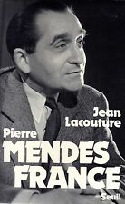 PIERRE MENDES FRANCE / JEAN LACOUTURE / GRAND FORMAT