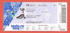 Orig.Ticket   Olympische W.Spiele SOTSCHI 2014  -  Eiskunstlauf Team FINALE  !!