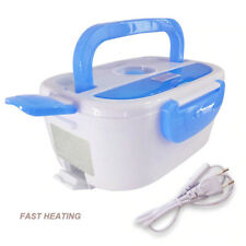 Electric Self Heating Portable Bento Lunch Box Thermos Office Food Warmer& spoon